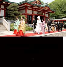神前式 日枝あかさか/香取神宮